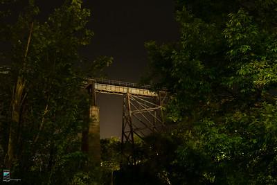 CP Trestle at Night