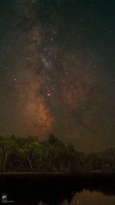 Milky Way over the Rose Point Trail with Ha