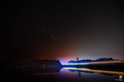 Orion over Mill Lake ( Late September 2020)