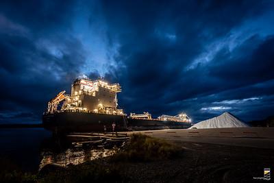 The Algoma Innovator Delivering Salt - October 1, 2020
