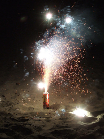 2007-07-13 Bon Voyage Fireworks for Rusty