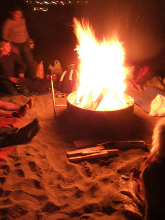 2007-09-26 Ocean Beach Bonfire