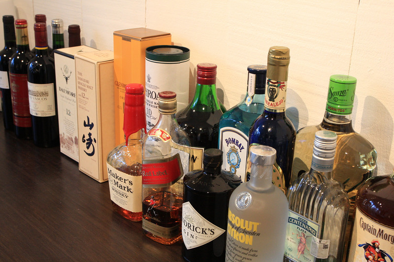 the supply of booze