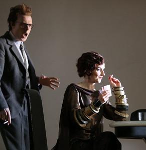 ENO Partenope Rupert Charlesworth and Sarah Tynan 2 (c) Donald Cooper