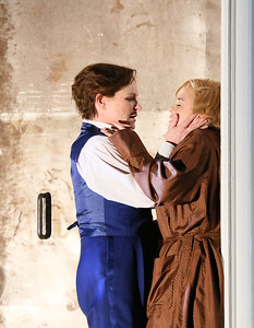 ENO Partenope Patricia Bardon and Stehpanie Windsor-Lewis (c) Donald Cooper