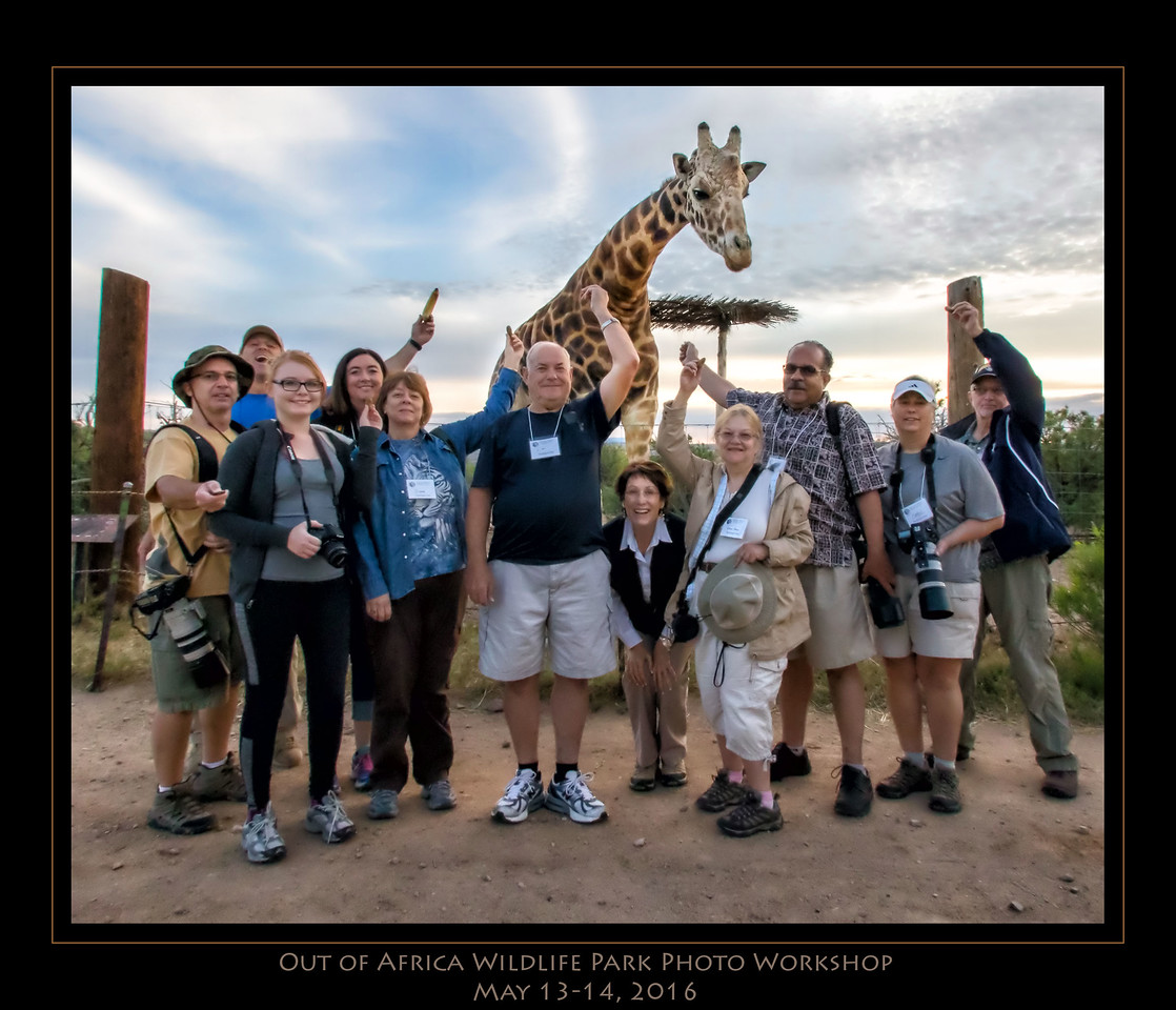 Out of Africa Wildlife Park Photo Workshop