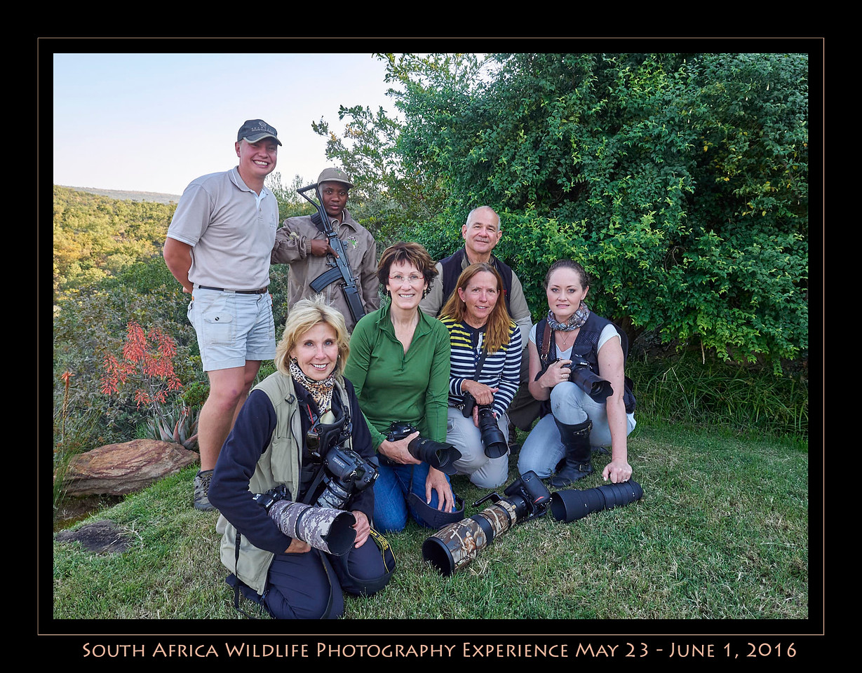 South Africa Wildlife Photography Experience May 23-Jun 1, 2016