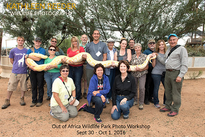 Out of Africa Wildlife Park 2016-09 Group Photo
