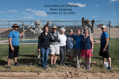 Out of Africa Wildlife Park Photo Workshop, October 21-22, 2016