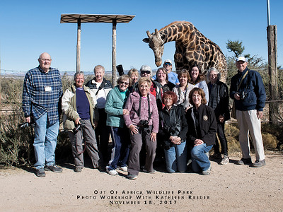 Out of Africa Wildlife Park Photo Workshop  November 18, 2017