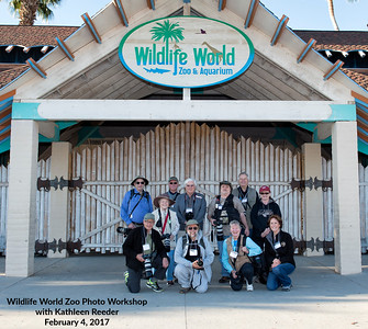 Wildlife World Zoo Photo Workshop - February 4, 2017