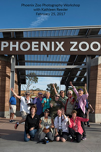 Phoenix Zoo Photography Workshop February 25, 2017