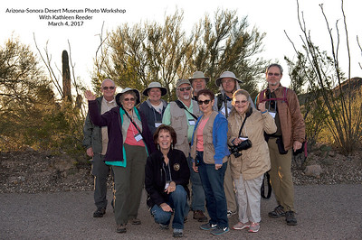 Arizona-Sonora Desert Museum Photo Workshop March 4, 2017