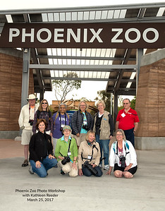 Phoenix Zoo Photo Workshop - March 25, 2017