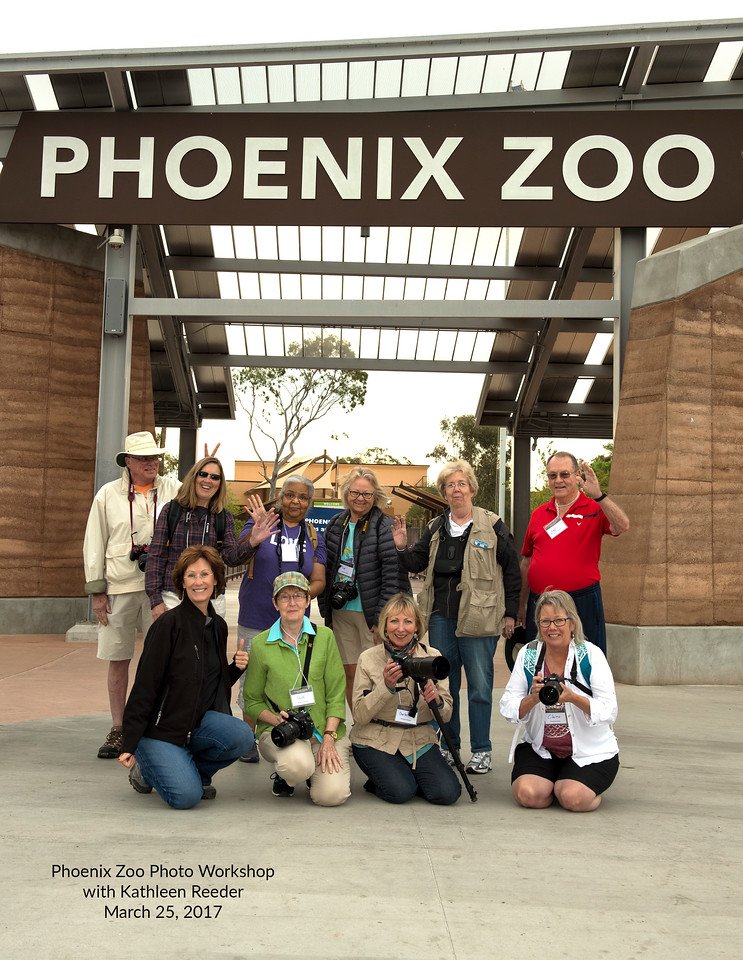 Phoenix Zoo Photo Workshop March 25, 2017