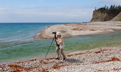 Participante du safari photo à l'embouchure de la rivière Jupiter