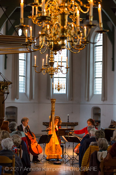 Cello: Judith Jamin en Sebastiaan van Eck; harp: Kersten Scholten