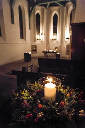 Voorafgaand aan de Kerstnachtdienst