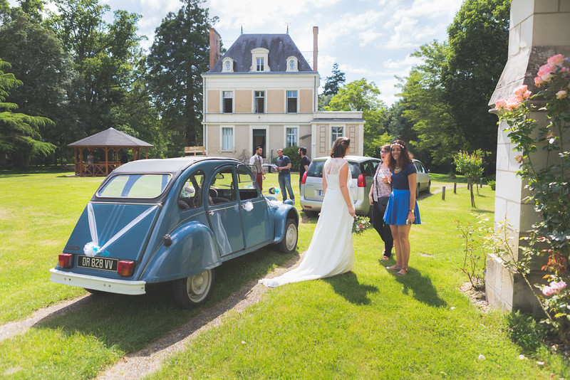 Mariage de Lucie et Thomas - Domaine de Navas, 25 juin 2016<br /> <br /> Photo par Light eX Machina