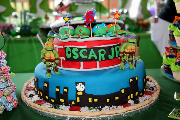 Oscar Jr's 6th Birthday Party