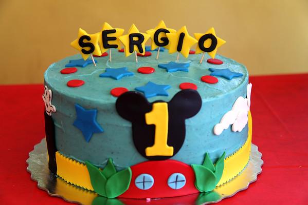 Sergio's 1st Birthday