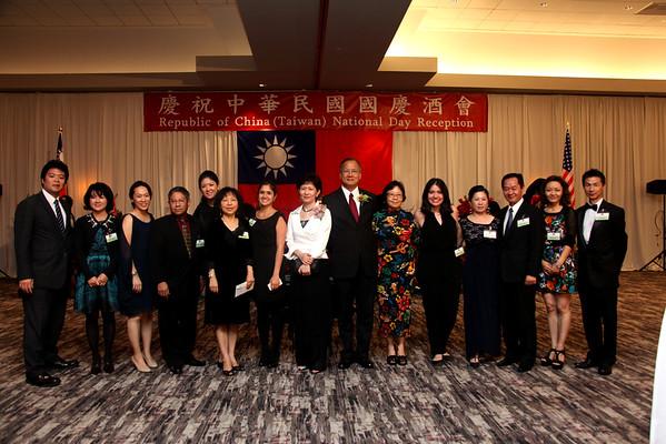 Taiwan National Day Reception 2015
