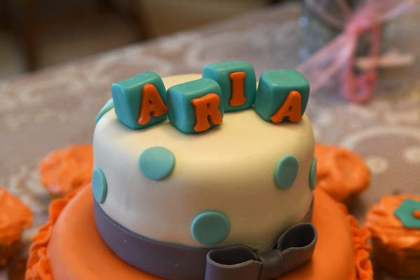 Aria's Shower