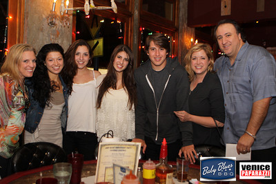 BABY BLUES BBQ NOW HAS THREE LOCATIONS TO SERVE YOU. Baby Blues BBQ - Venice | 444 Lincoln Boulevard, Venice, CA 90291 | (310) 396-7675 | http://www.babybluesvenice.com Baby Blues BBQ - West Hollywood | 7953 Santa Monica Boulevard, West Hollywood | (323) 656-1277 | http://www.babyblueswh.com Baby Blues BBQ - San Francisco | 3149 Mission St • San Francisco, CA 94110 | 415-896-4250 | http://www.babybluessf.com/ MISS WILLIE BROWN. http://www.misswilliebrown.com/. Photos by Venice Paparazzi.  http://www.venicepaparazzi.com