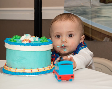Christopher 's First Birthday