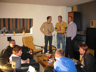 2003 11 Saj Leaving Party