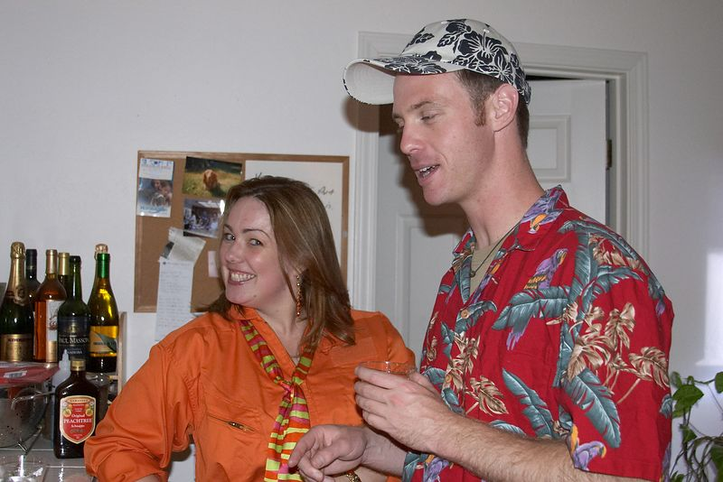 Martha Stewart (Kate) and Jimmy Buffet (Brian)