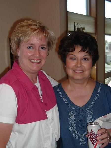 Tracey and Nila Novotny
