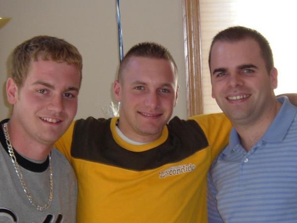 Brothers: Chris, Matt, Josh