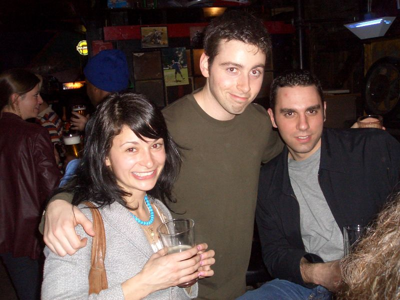 Kathy, Matan and Ramzi