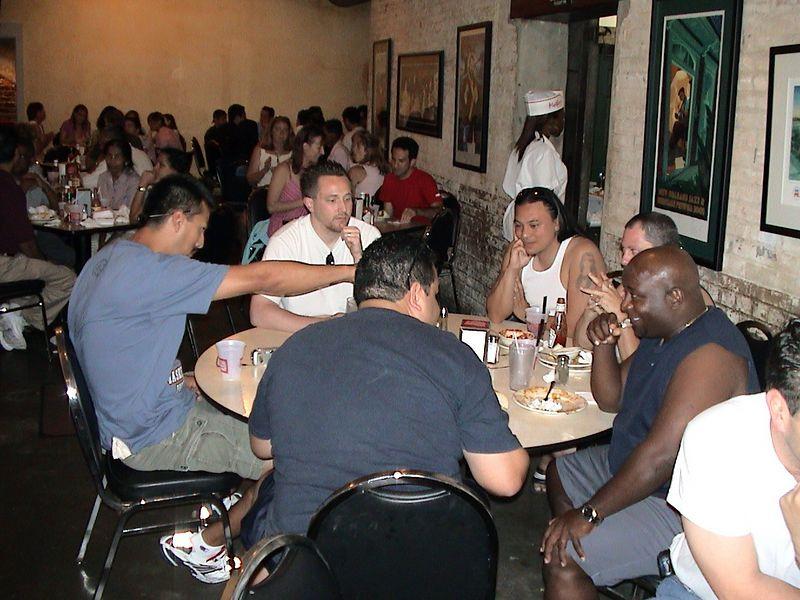Table 1: Lupe, Roger, Steve, Jo, Galen, Carlos.