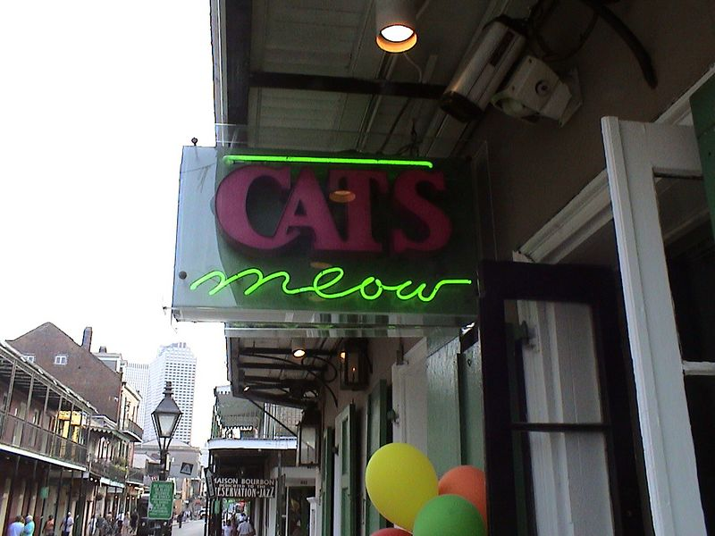 I sang karaoke at the Cat's Meow 3 times.  This place was crazy!