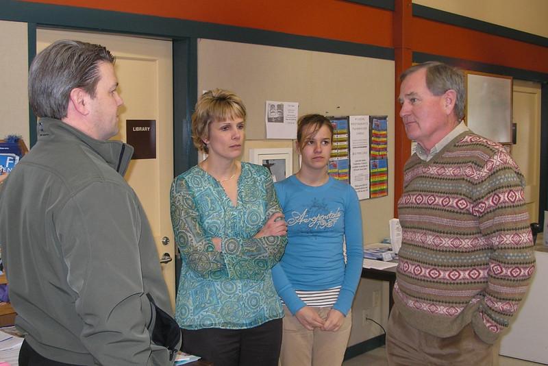 Doug, Julie, Natalie and Michael