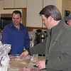Josh, Doug & Matt - doing kitchen duties