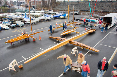 Rocket with Backbone, Runner Plank & Cockpit Assembled, December, 2007