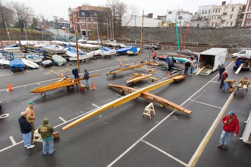 Rocket with Backbone, Runner Plank & Cockpit Assembled, December, 2007