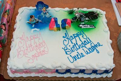 2008 Dec 27 Sophia & Wayne's Birthday Party