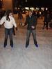 Ice Skating in Bryant Park.
