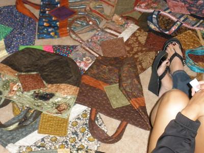 Bags made by Karen Austad