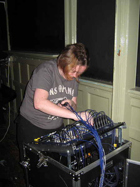 Hannah's Birthday Party: disguised as a sound engineer
