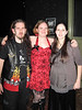 Hannah's Birthday Party: the birthday trio