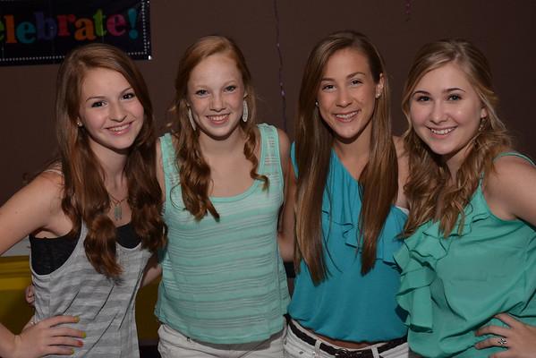 2012: Caroline, Madeleine, Hannah and Tita's Birthday Party - June 1