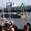 Red Bull Flugtag garbage barge