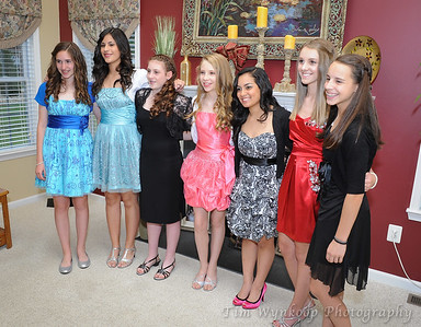 St. Jane Frances de Chantal 8th Grade Graduation Dance
