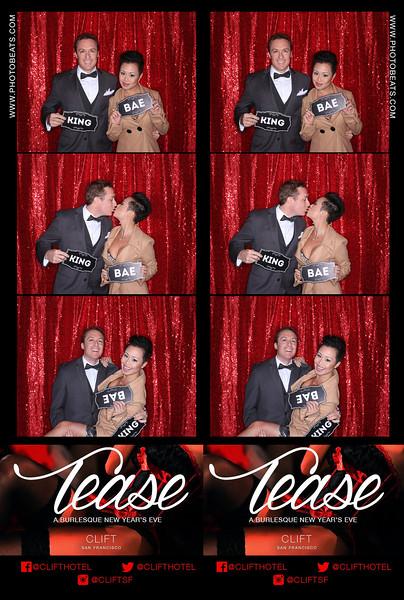 "Clift Hotel: Tease NYE Burlesque - photo booth powered by  <a href=""http://www.photobeats.com"">http://www.photobeats.com</a>"
