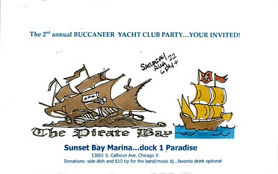 2nd annual BUCCANEER YACHT CLUB PARTY